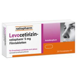 Levocetirizin ratiopharm ® 5 mg
