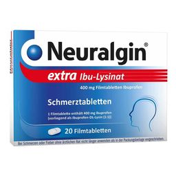 Neuralgin® extra Ibu Lysinat Filmtabletten
