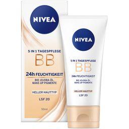 NIVEA® BB CREAM 5-IN-1 Hell LSF 10