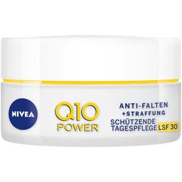NIVEA® Face Q10 Power Anti Falten+Straffung Schützende Tagespflege LSF30