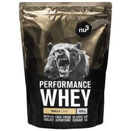 nu3 Performance Whey, Vanille - Proteinpulver