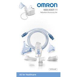OMRON Compact Vernebler-Set Kind+Erwachsene