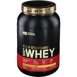 Optimum Nutrition 100 % Whey Gold Standard, French Vanilla Cream, Pulver