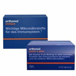 Orthomol Immun + Junior C Kautabletten Waldfrucht