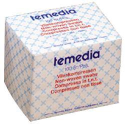 Temedia® Vlieskompressen 4-fach 10 x 10 cm unsteril
