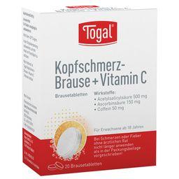 Togal Kopfschmerz-Brause + Vitamin C