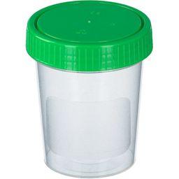 Urinbecher mit Schraubdeckel 125 ml