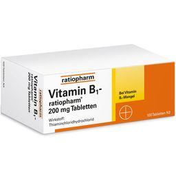 Vitamin B1-ratiopharm® 200 mg