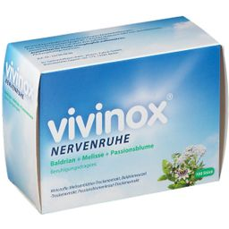 Vivinox® Nervenruhe Baldran + Melisse + Passionsblume Beruhigungsdragees