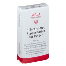 WALA® Silicea Comp. Suppositorien für Kinder