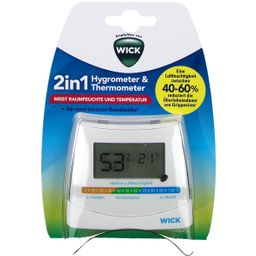 WICK 2-in-1 Hygrometer & Thermometer