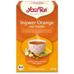 YOGI TEA® Ingwer Orange + Vanille
