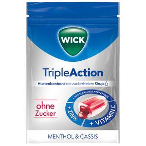WICK TripleAction Menthol & Cassis ohne Zucker thumbnail