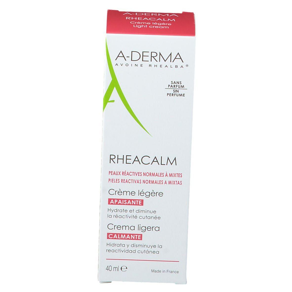 A-Derma RHEACALM beruhigende Creme leicht