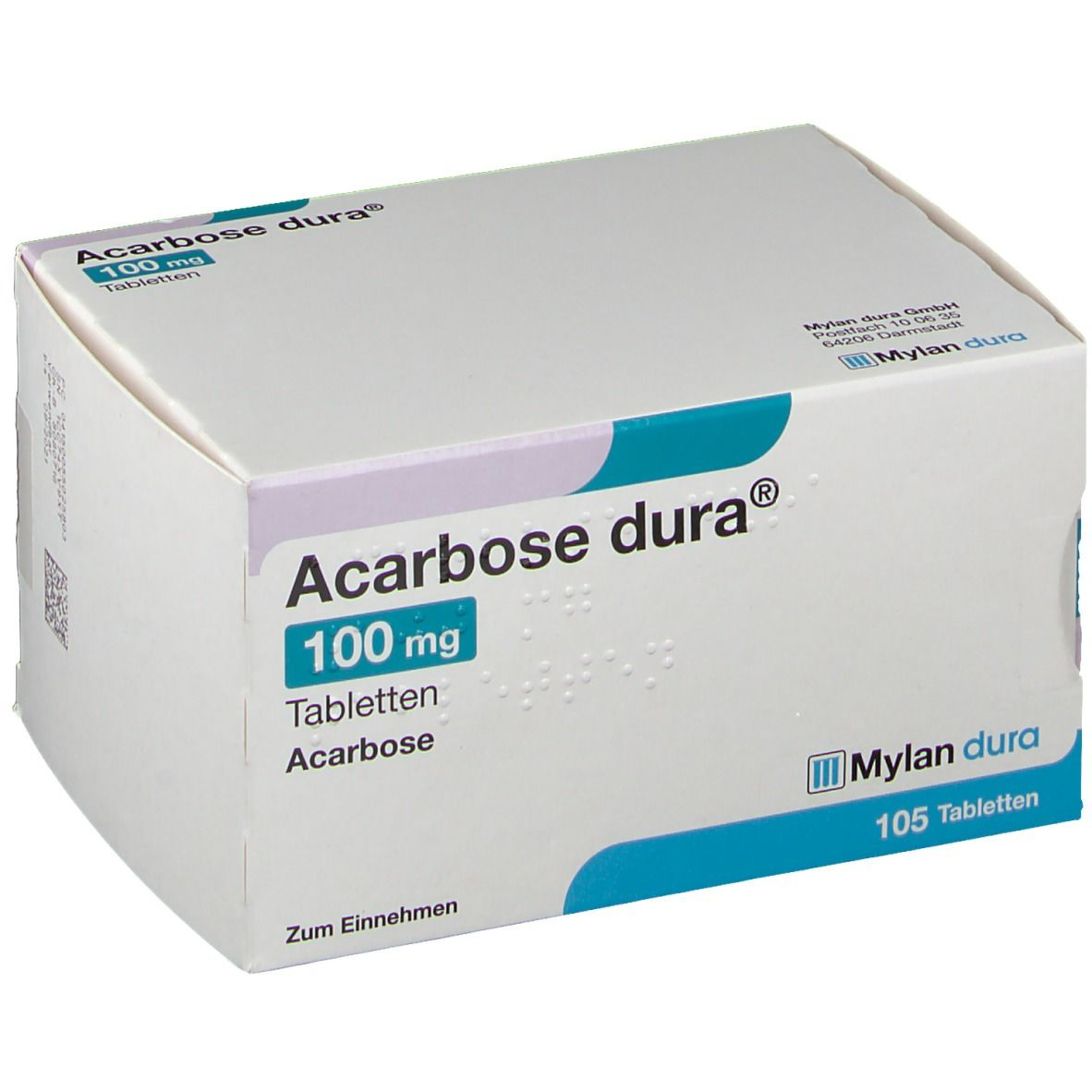 Acarbose dura® 100 mg Tabletten