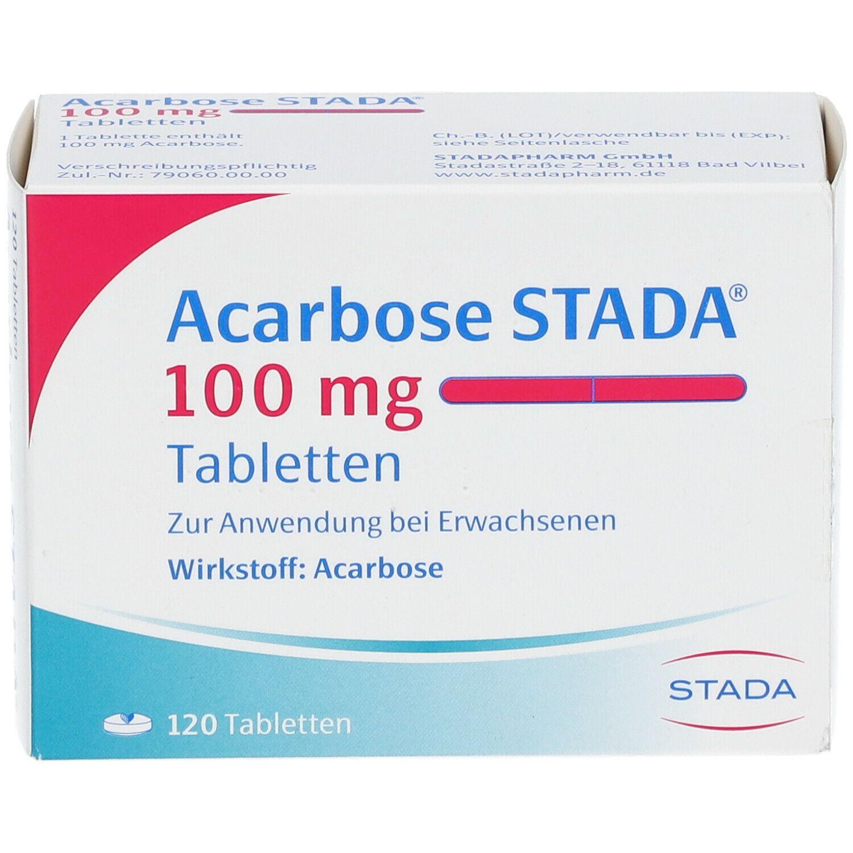 Acarbose Stada 100 mg Tabletten