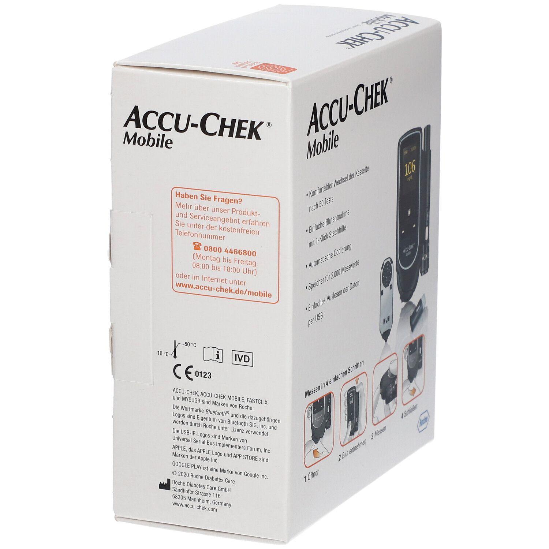 ACCU-CHEK® Mobile III Set mg/dL
