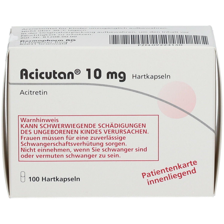 ACICUTAN 10 mg Kapseln