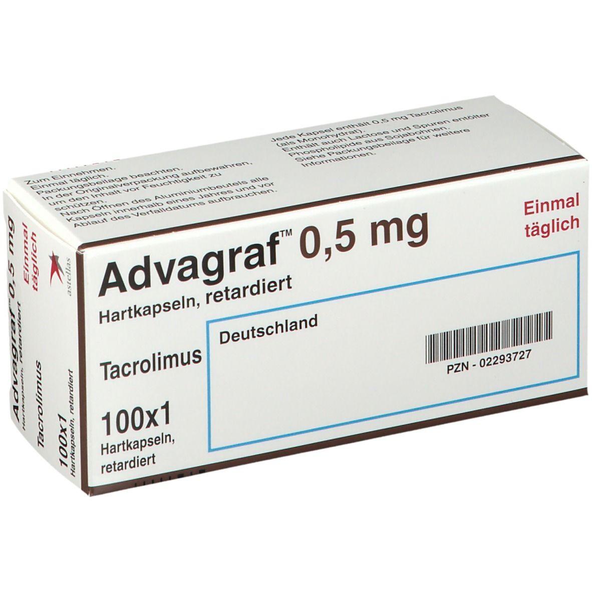 Advagraf 0,5 mg Retardkapseln