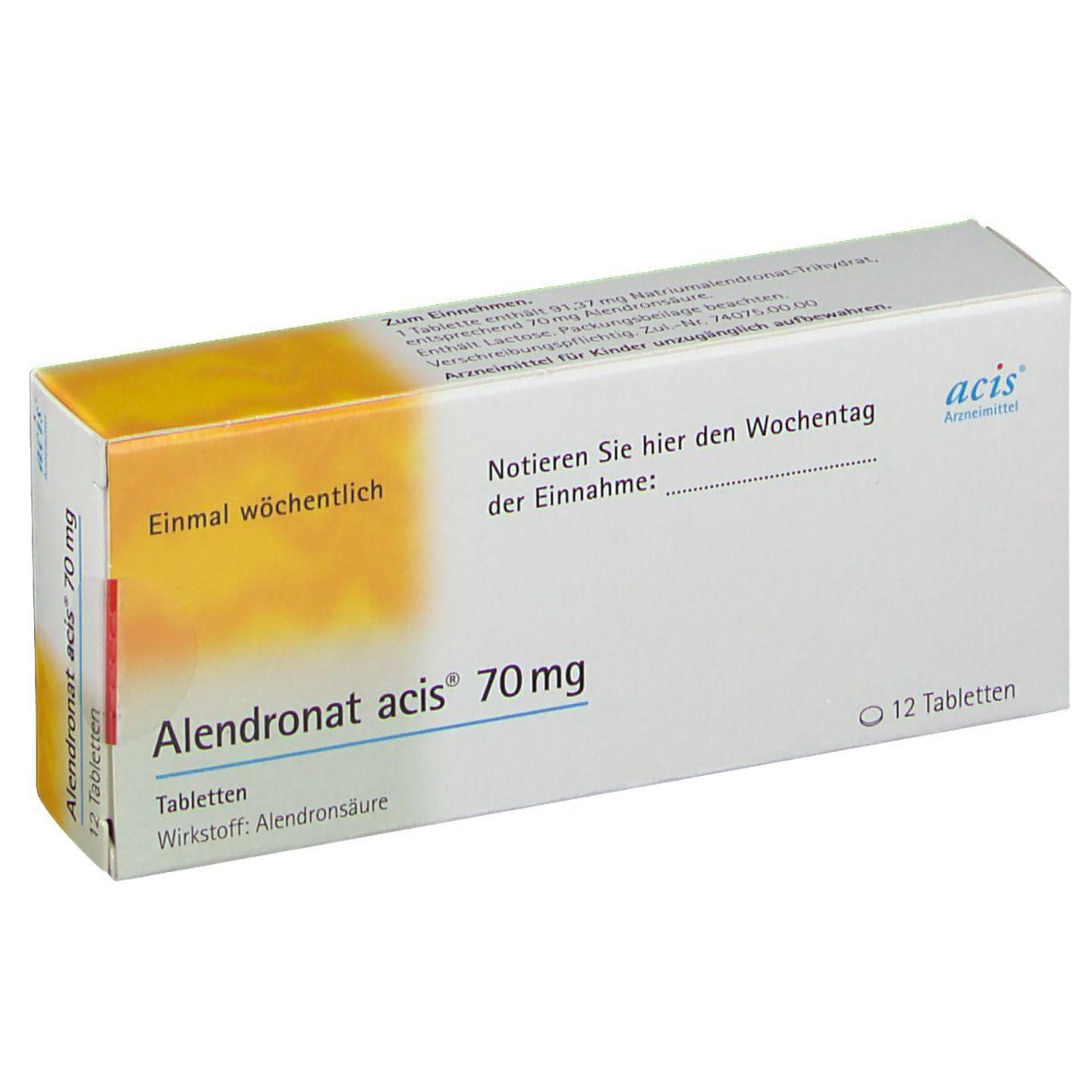 ALENDRONAT acis 70 mg Tabletten