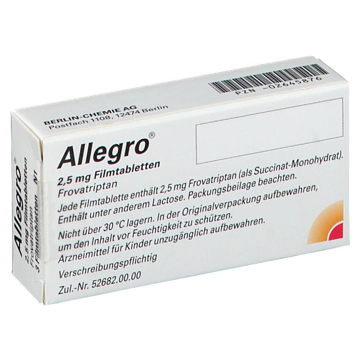 Allegro Filmtabletten