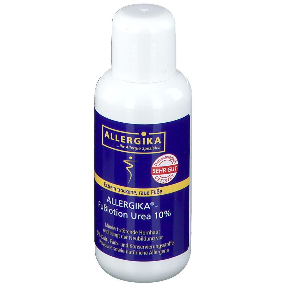 ALLERGIKA®-Fußlotion Urea 10%