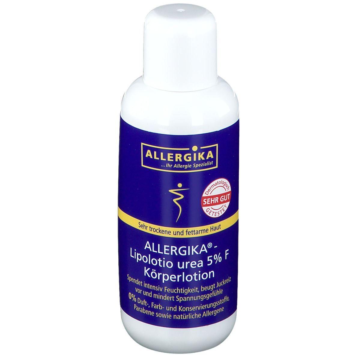 ALLERGIKA® Lipolotio urea 5% F Körperlotion