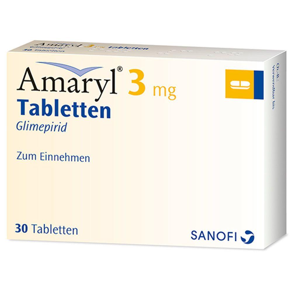 Amaryl® 3 mg Tabletten