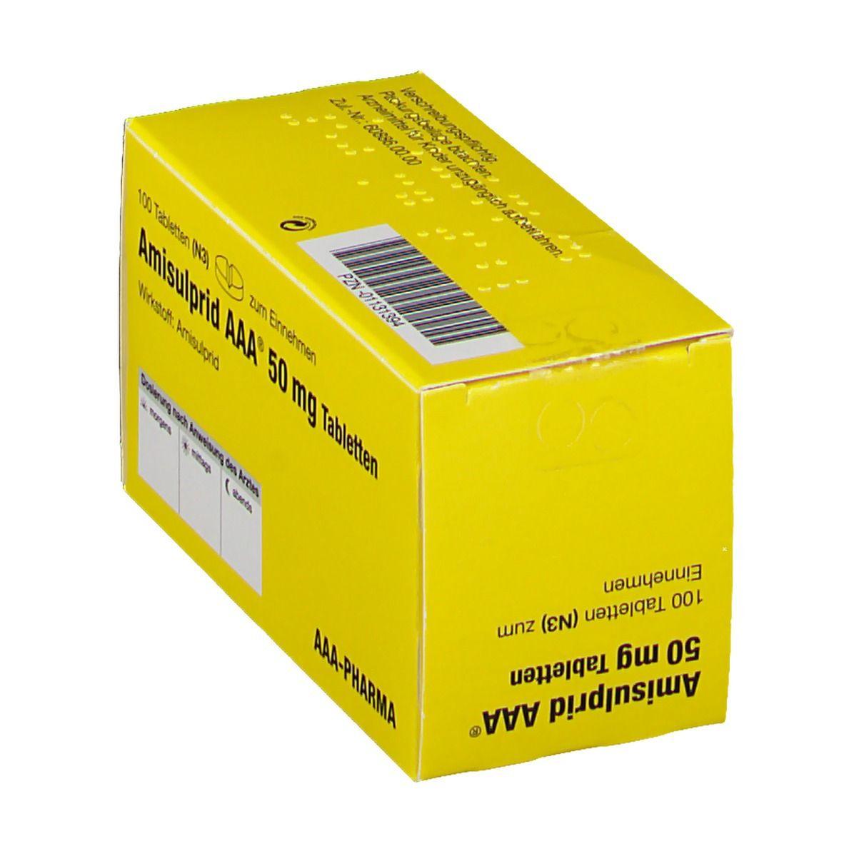 Amisulprid AAA Pharma 50 mg Tabletten