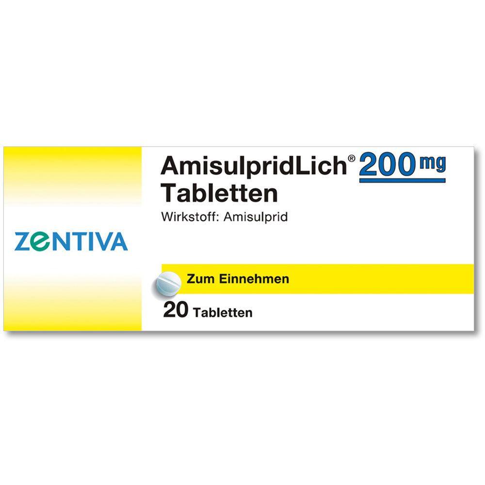 AMISULPRIDLICH 200 mg Tabletten