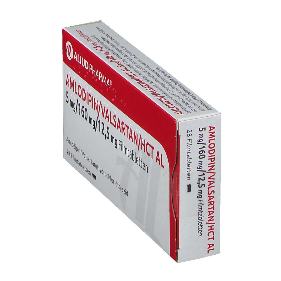 AMLODIPIN/Valsartan/HCT AL 5/160/12,5 mg Filmtabl.
