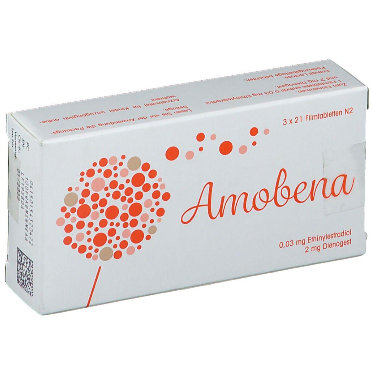 AMOBENA 0,03 mg/2 mg Filmtabletten