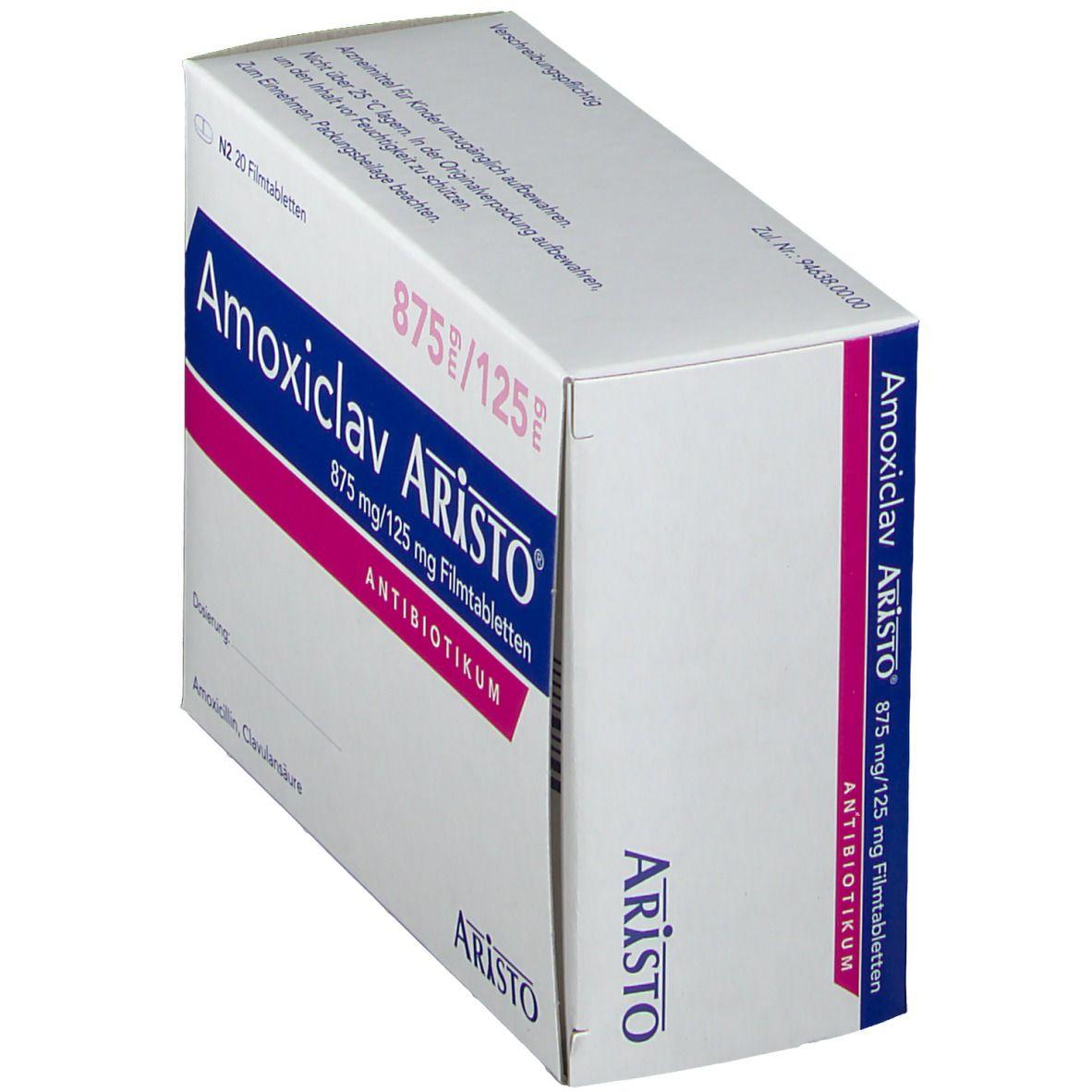 AMOXICLAV ARISTO 875/125MG
