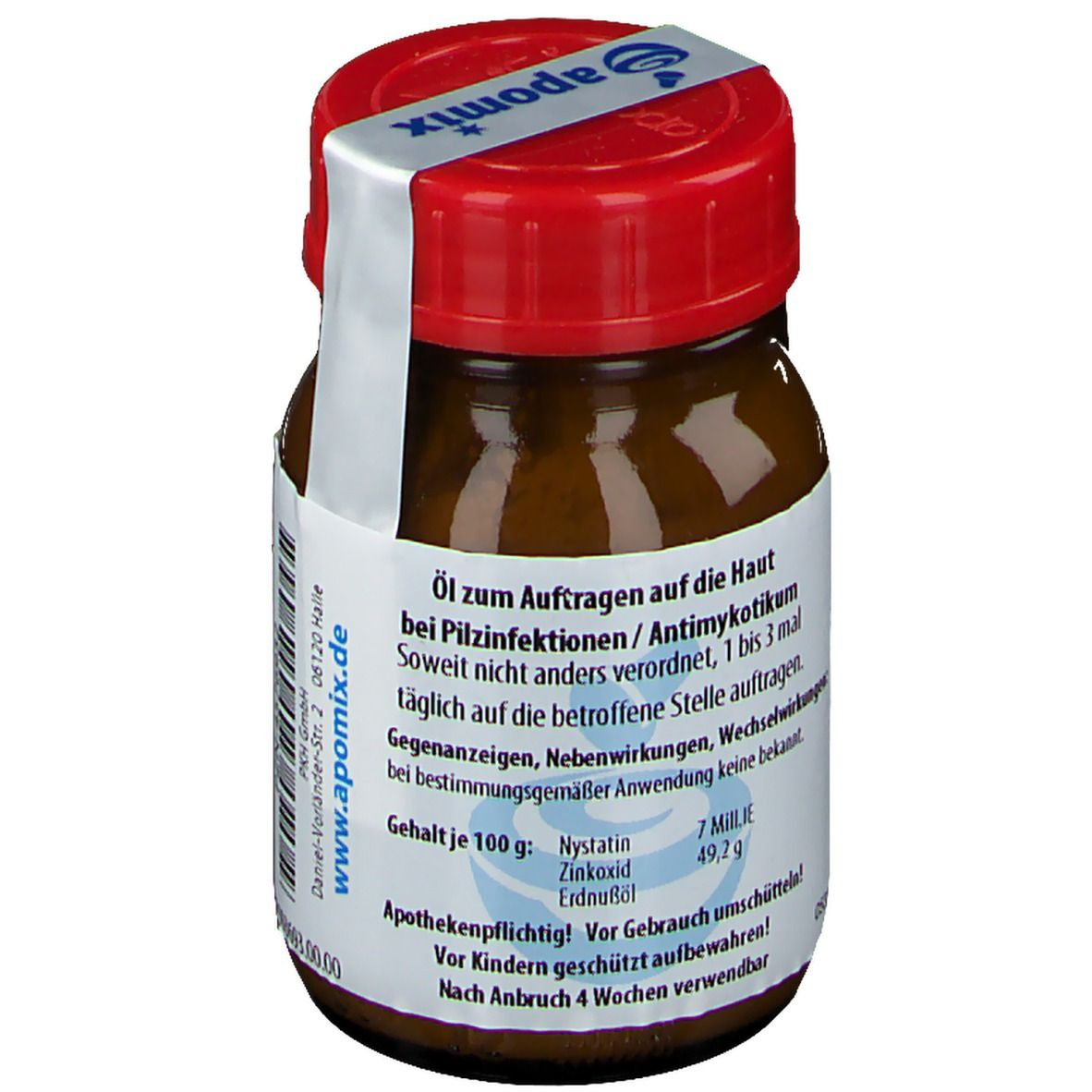 apomix® Oleum Zinci oxidaticum Nystatino SR
