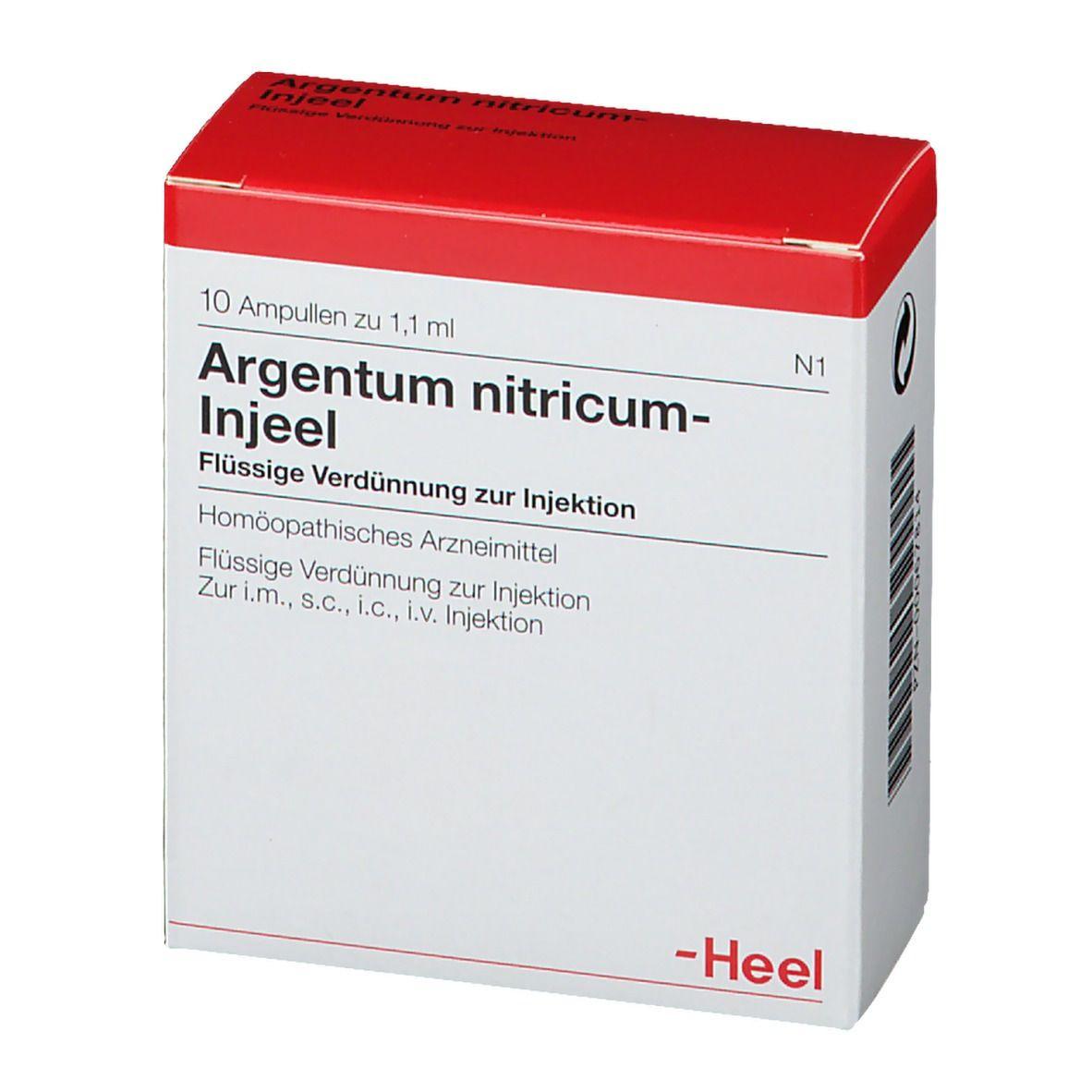 Argentum nitricum-Injeel® Ampullen