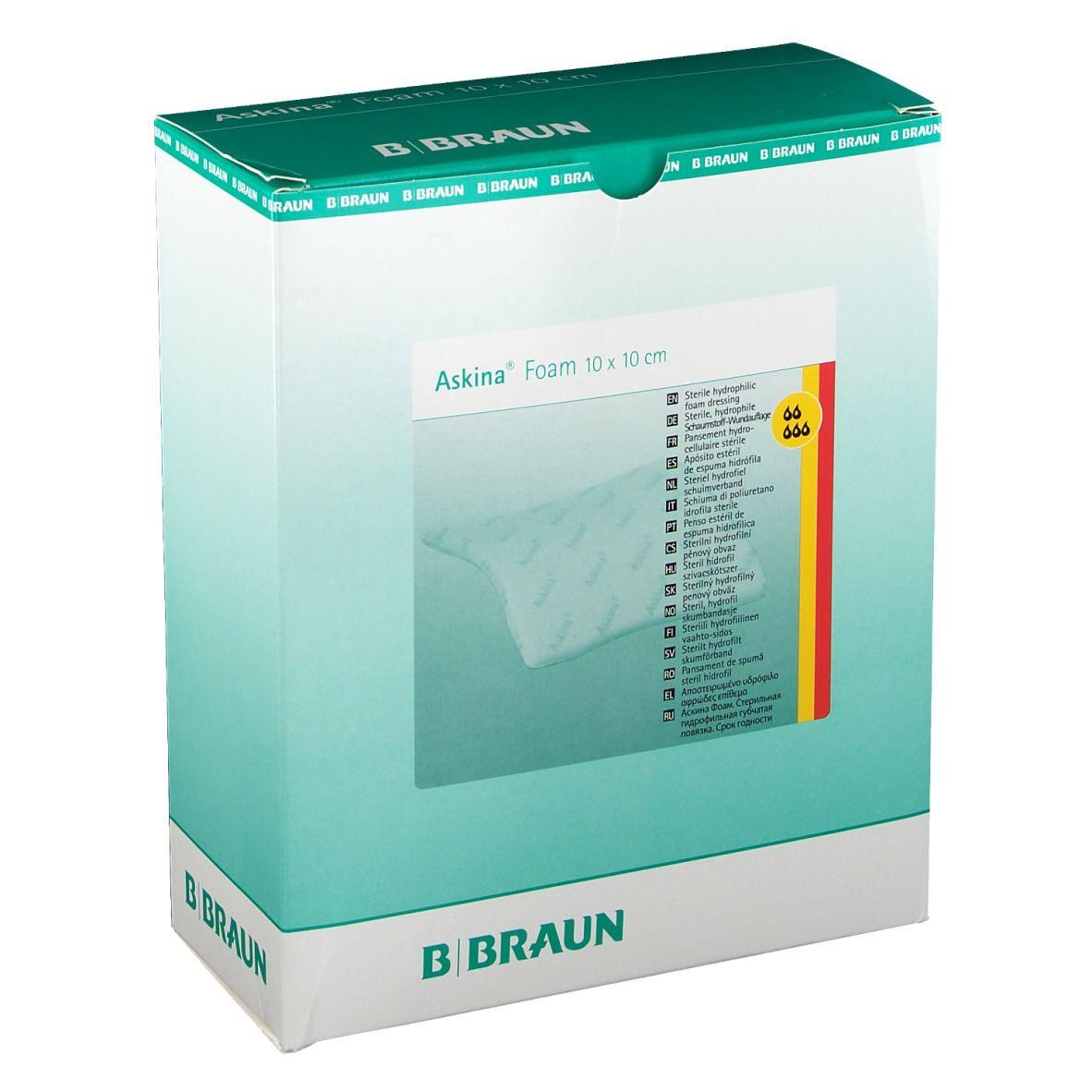 Askina® Foam 10 x 10 cm steril