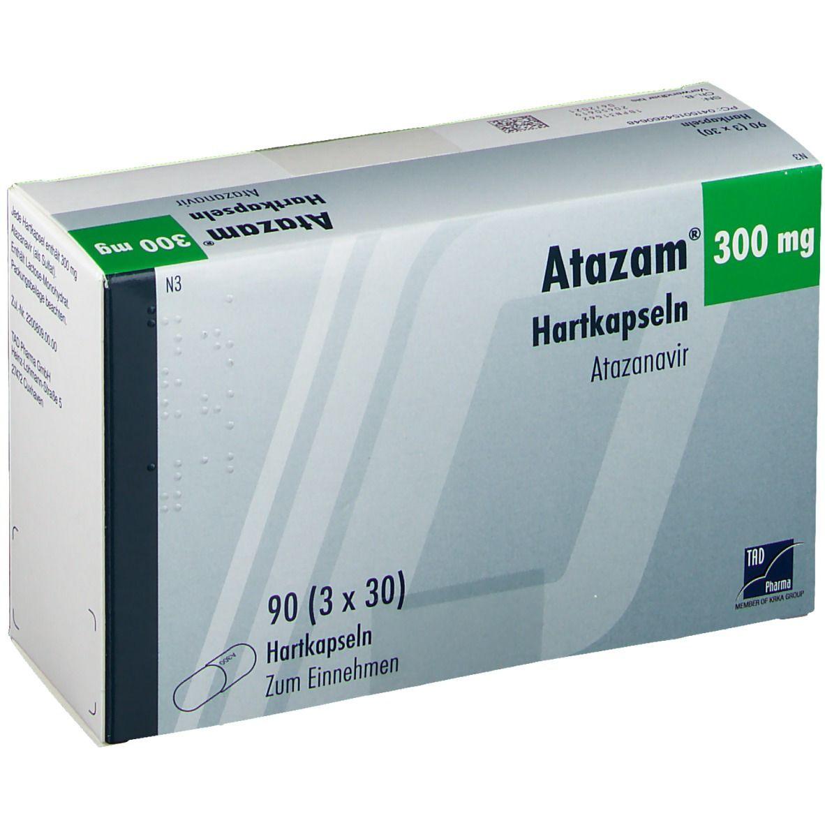 ATAZAM 300 mg Hartkapseln