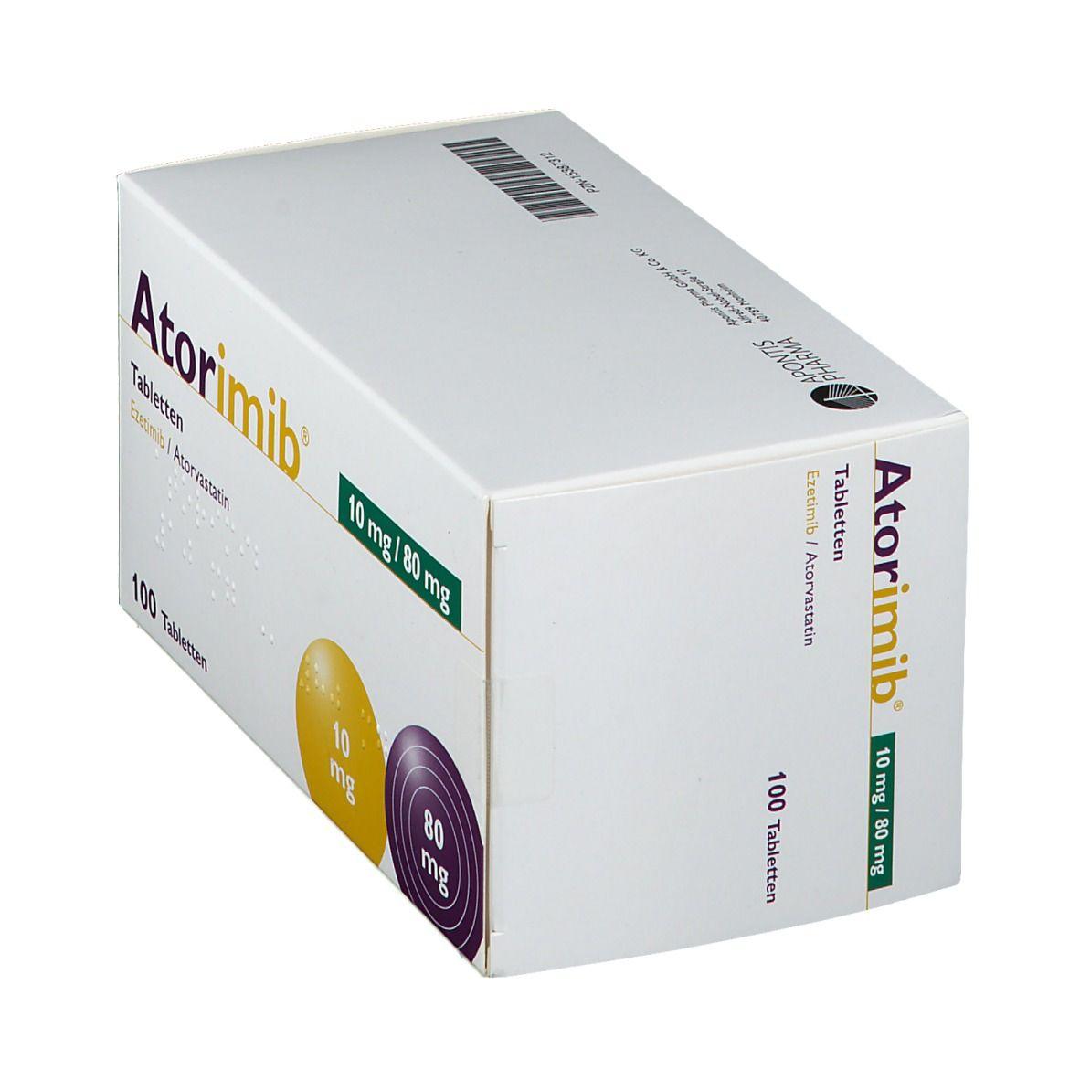 ATORIMIB 10 mg/80 mg Tabletten