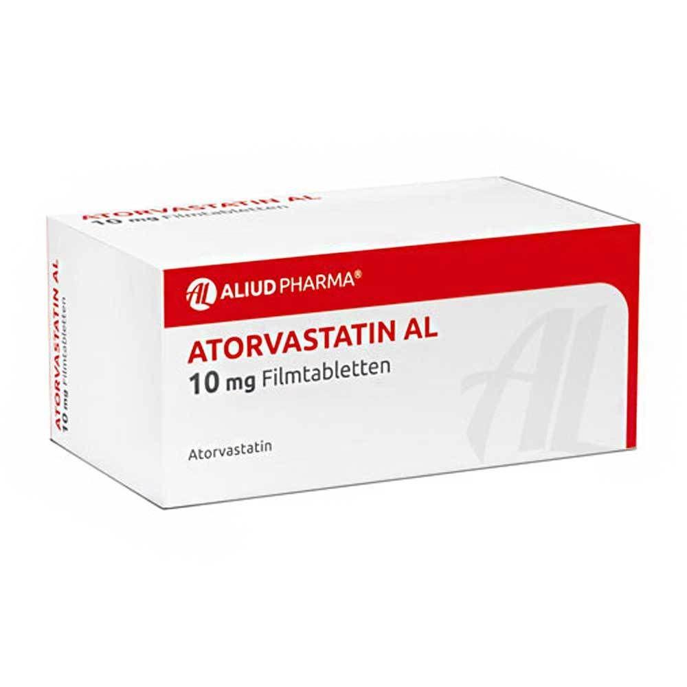 ATORVASTATIN AL 10 mg Filmtabletten