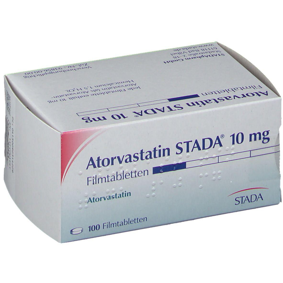 Atorvastatin Stada® 10 mg Filmtabletten