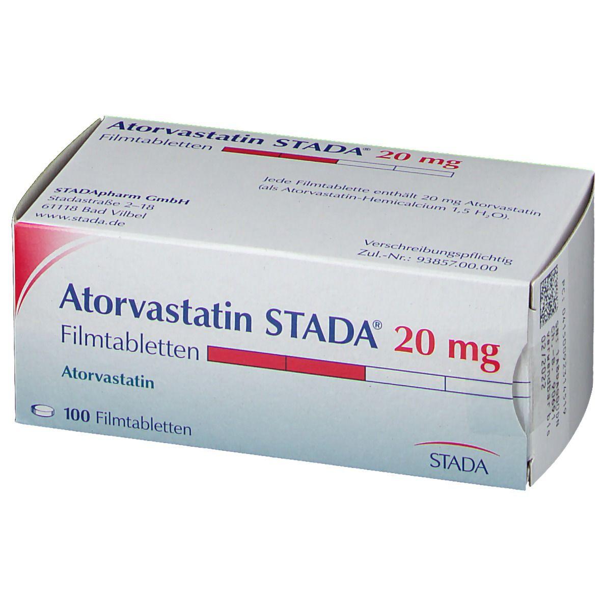 Atorvastatin STADA® 20 mg