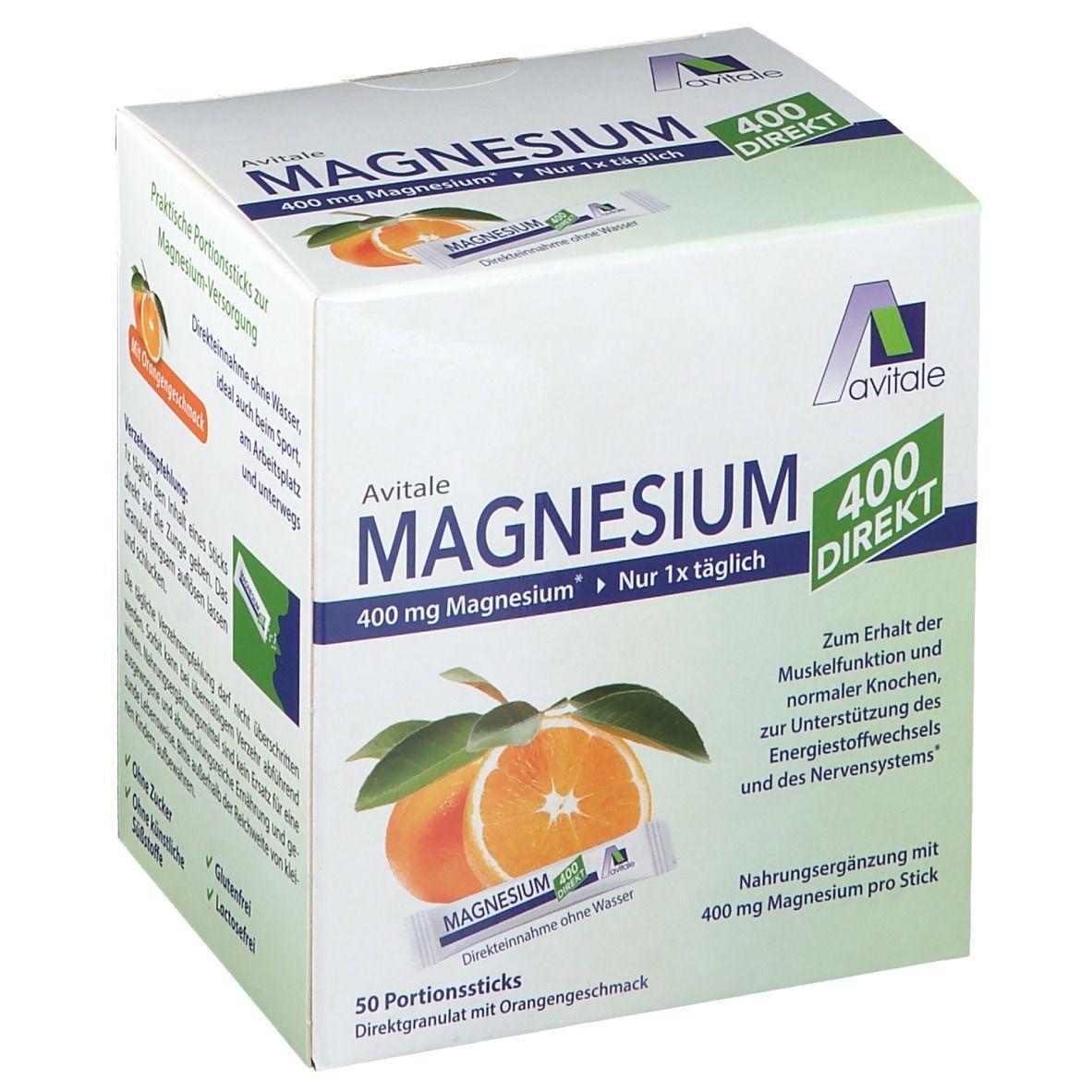 Avitale Magnesium 400 DIREKT