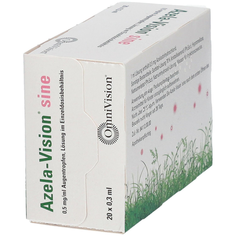 Azela-Vision® sine 0,5 mg/ml Augentropfen 20X0,3 ml - shop ...