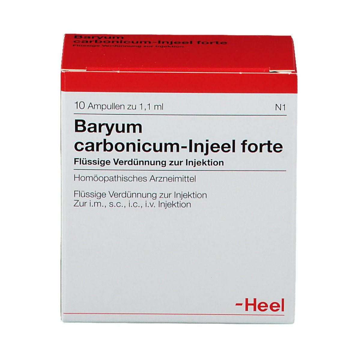 Baryum carbonicum-Injeel® forte Ampullen