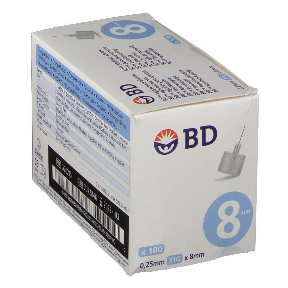 BD Pen-Nadeln 0,25 mm x 8 mm