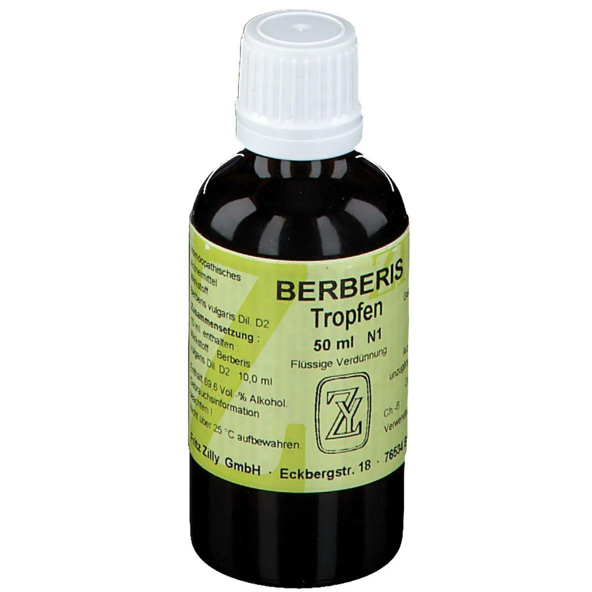 Berberis Tropfen