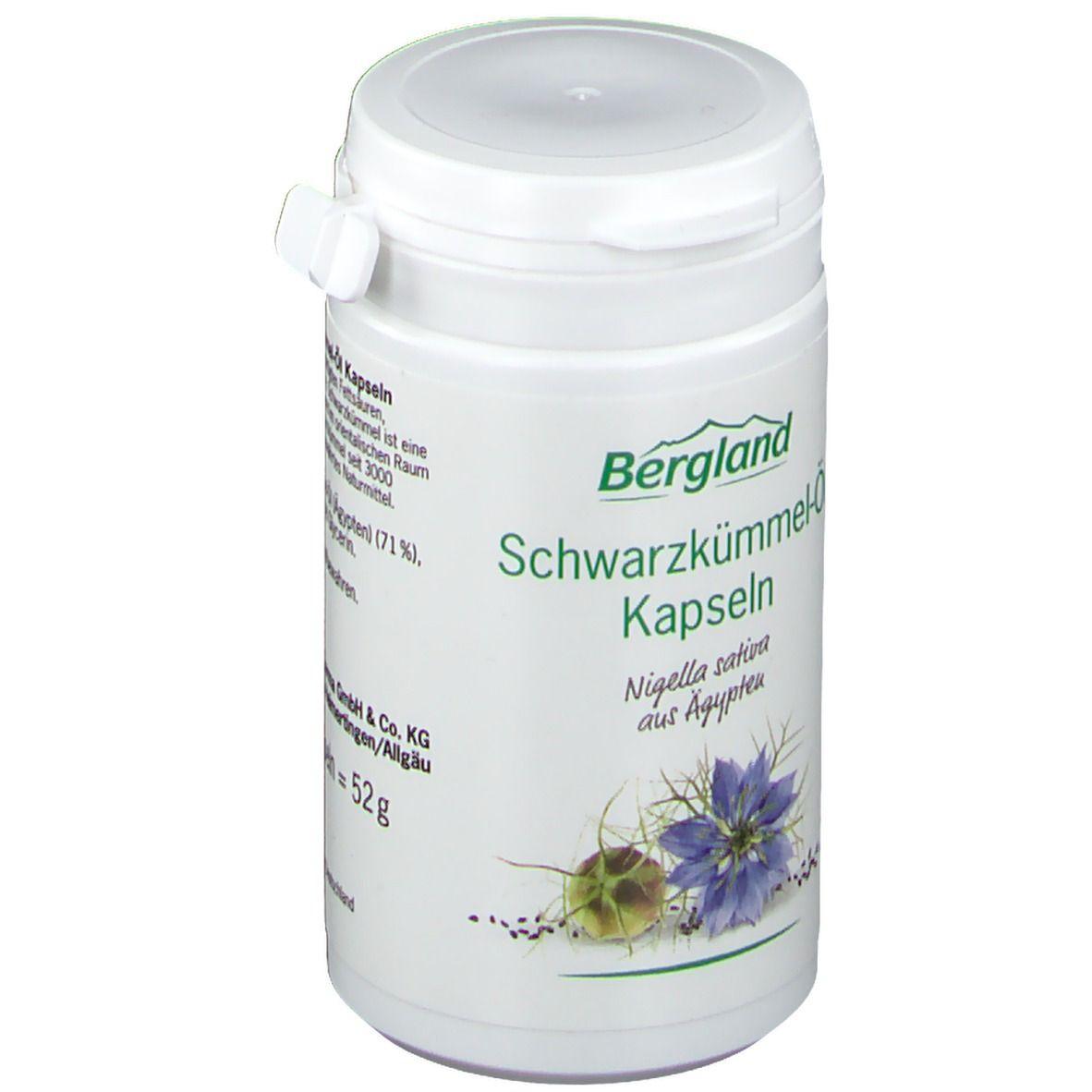 Bergland Schwarzkümmel-Öl Kapseln