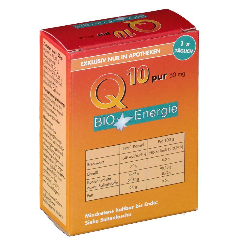 BIO Energie Q10 pur 50mg