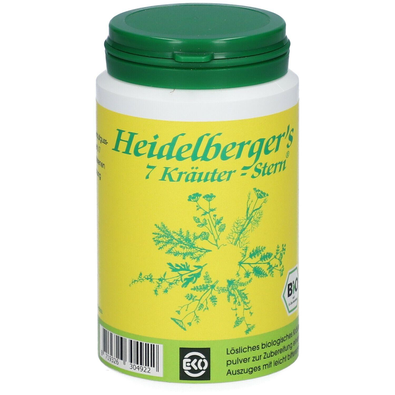 BIO Heidelberger´s 7 Kräuter-Stern® Tee