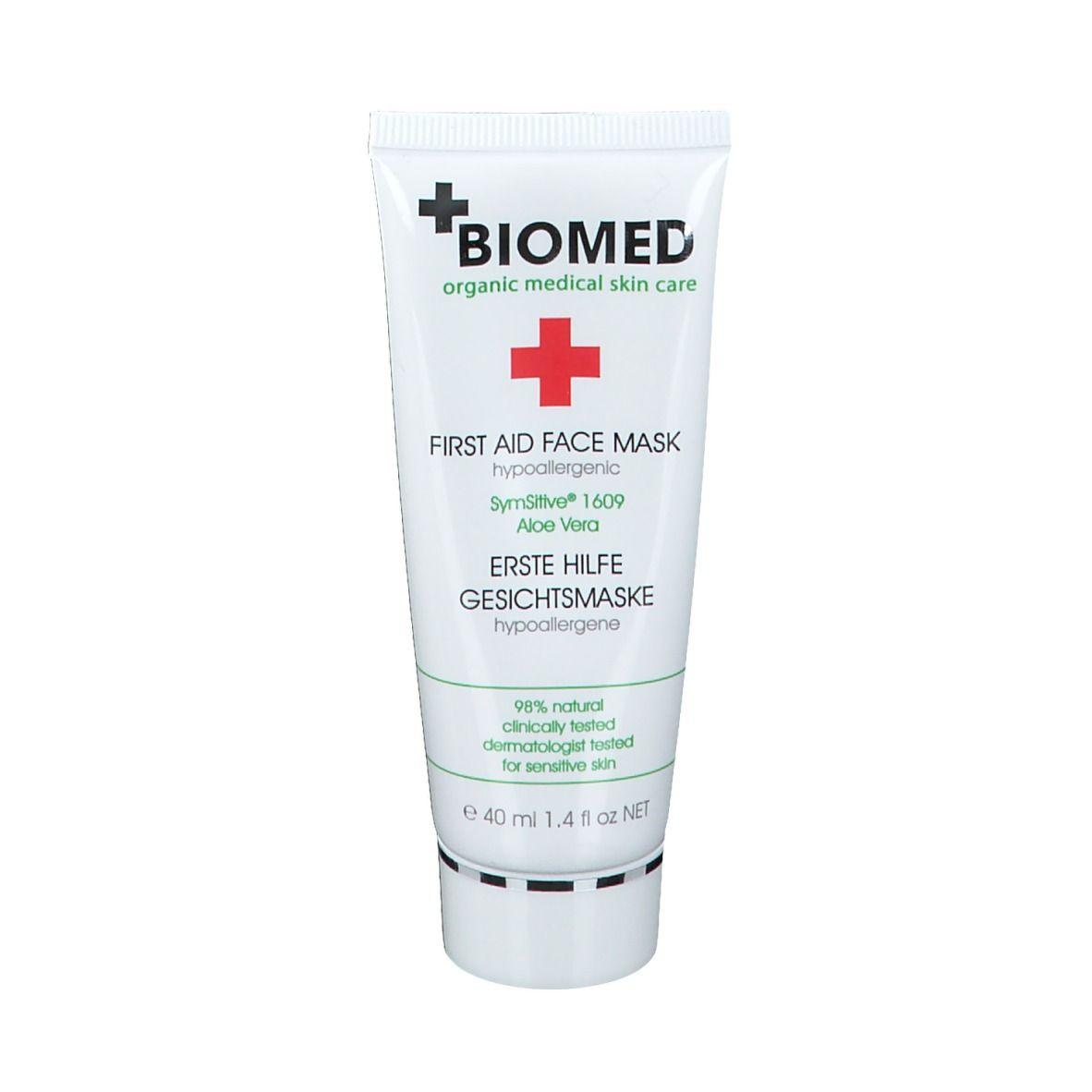 BIOMED Erste Hilfe hypoallergene Gesichtsmaske